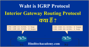 Waht is IGRP Protocol -Interior Gateway Routing Protocol क्या हैं ?