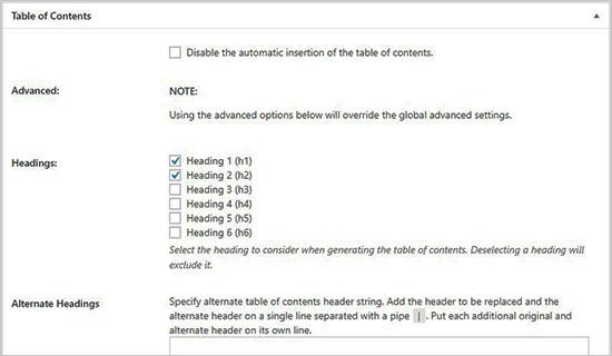 WordPress Post और Pages में Table of Content कैसे Add करें?