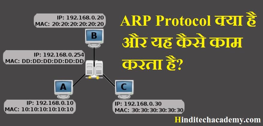 ARP Protocol क्या है और यह कैसे काम करता है?