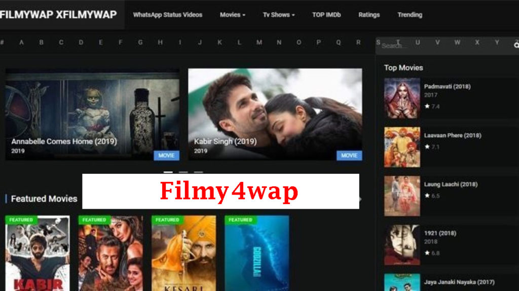 Filmy4wap 2020- Free Latest HD Bollywood Movies Download