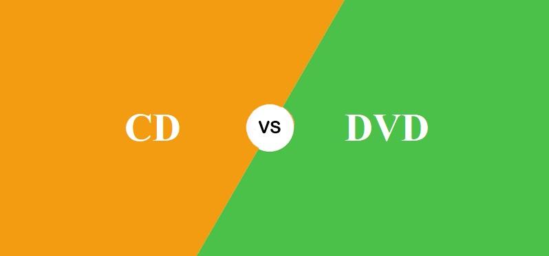 CD और DVD में क्या अंतर है?