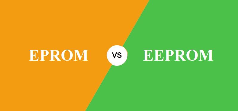 EPROM और EEPROM में क्या अंतर है?