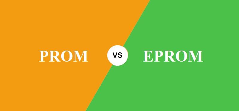 PROM और EPROM में क्या अंतर है?
