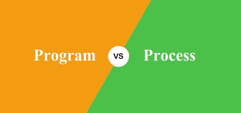 Program और Process में क्या अंतर है