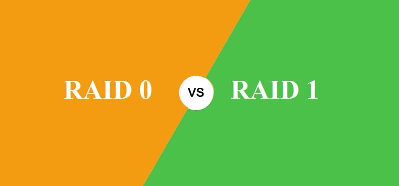 RAID 0 और RAID 1 में क्या अंतर है?