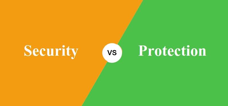 Security और Protection में क्या अंतर है?
