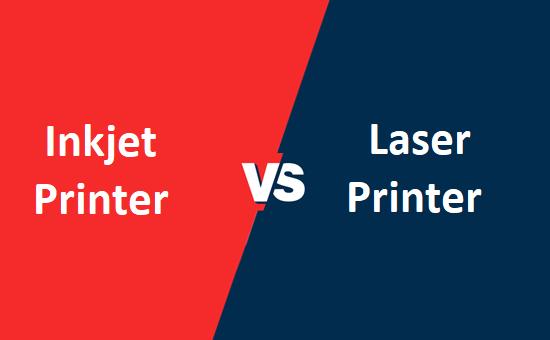 Inkjet printer और Laser printer में क्या अंतर है?