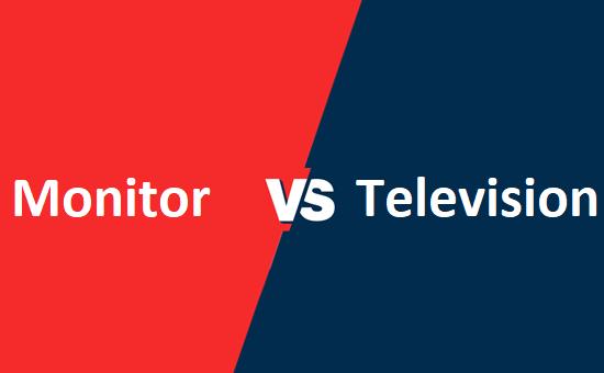 Monitor और Television में क्या अंतर है?