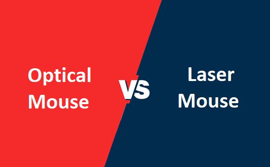 Optical Mouse और Laser Mouse में क्या अंतर है?
