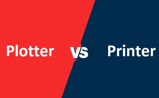 Plotter और Printer में क्या अंतर है?