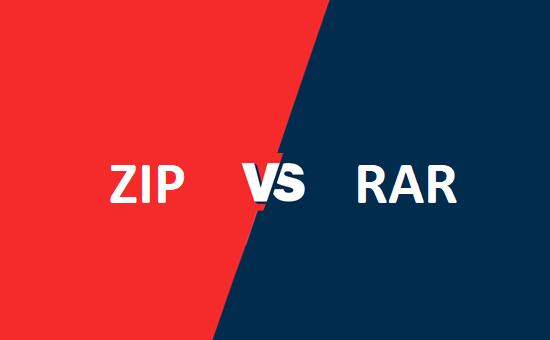 ZIP और RAR में क्या अंतर है?